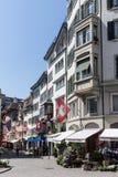 Zürich die Schweiz Lizenzfreie Stockbilder