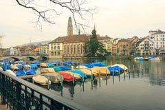 Zürich, die Schweiz lizenzfreie stockbilder
