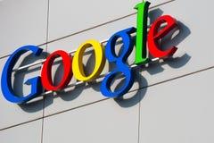 ZÜRICH, die SCHWEIZ, Google Corporation Recept Lizenzfreies Stockfoto