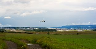 Zürich-Flughafen Stockbilder