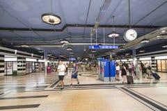 Zürich Hauptbahnhof stock images