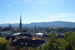 Zürich-Landschaft Stockfotografie