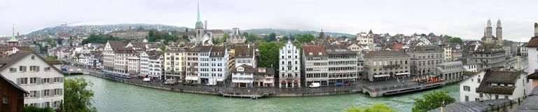 Zürich-Panorama stockfotografie