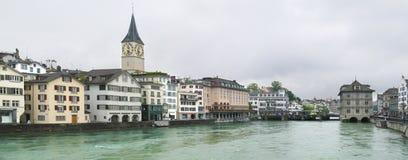 Zürich-Panorama stockbild