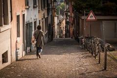 Zürich-Straße Lizenzfreies Stockfoto