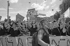 Zürich/Switzerland 13.06.2020: Black Life Matters Demonstraion in Zürich in times of Covid-19 Pandemie
