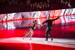 Art on Ice 2018 Royalty Free Stock Photo