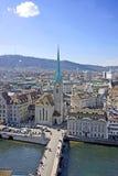 Zürich von über 4 Stockbilder