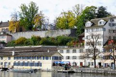 Zürich city and canton in Switzerland in Europe stock images