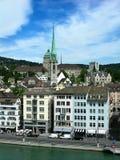 Zürich/Zurigo in der Schweiz Lizenzfreie Stockfotografie