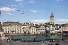 Zürich Zwitserland Stock Fotografie