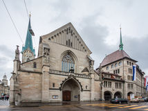 Zürich Zwitserland Royalty-vrije Stock Foto