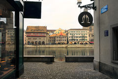 Zürich, Zwitserland Stock Foto's