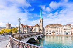 Zürich, Zwitserland Stock Afbeelding