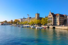 Zürich, Zwitserland - 13 Oct, 2018 stock foto
