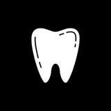 Ząb bryły ikona Zdjęcia Royalty Free