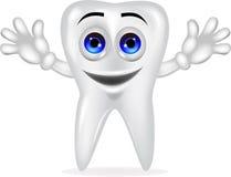 Ząb kreskówka Zdjęcia Stock