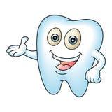 Ząb maskotka ilustracja wektor