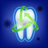 Ząb ochrony pojęcie Fotografia Stock