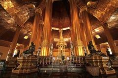 Ząb relikwii pagoda, Yangon Ten pagoda niedawno zrobi po 2nd wojny światowa Zdjęcia Royalty Free