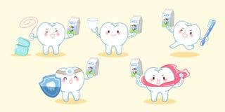 Ząb z zdrowia pojęciem ilustracji