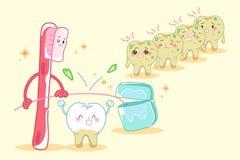 Zębów zdrowie pojęcie royalty ilustracja