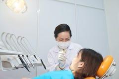 Zębu gnicia traktowanie obraz stock