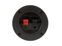 złącze wtyczki głośnika terminal Zdjęcia Stock