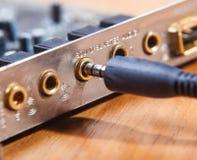 Złączeni audio przyrząda obrazy stock