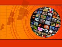 złączony globalny Zdjęcie Stock