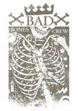 Zła kości załoga Zdjęcia Royalty Free