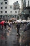 Zła pogoda Deszcz w Wiedeń Obrazy Royalty Free
