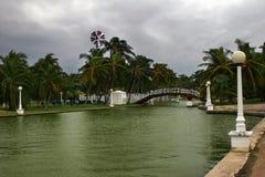 zła pogoda Varadero park fotografia royalty free