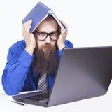 Zła wiadomość i problemy - biznesmen (serie) Zdjęcie Royalty Free