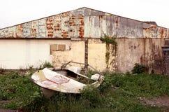 złamana łódź Zdjęcie Royalty Free