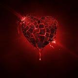 złamana miłości Zdjęcie Royalty Free