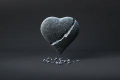 złamane serce Fotografia Stock