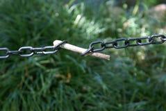 złamany łańcuch Zdjęcie Stock