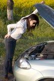złamany silnika Zdjęcia Royalty Free