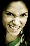 złości kobieta Fotografia Stock
