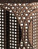 złożone futurystyczny biuro 3 d Obrazy Stock