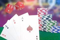 Złożony 3d wizerunek obrazów cyfrowych karta do gry ilustracja wektor