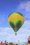 Złożony gorące powietrze balony przy Ninh Thuan balonu festiwalem Fotografia Royalty Free