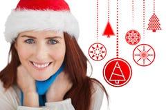 Złożony wizerunek świąteczna rudzielec Obraz Stock