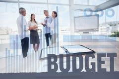 Złożony wizerunek budżet zdjęcia stock