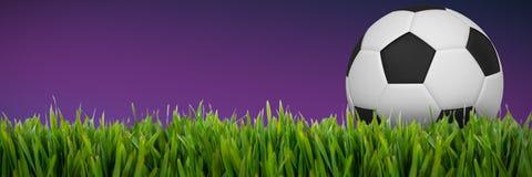 Złożony wizerunek futbol ilustracji
