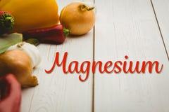 Złożony wizerunek magnez obrazy royalty free