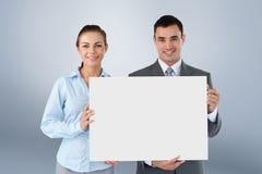 Złożony wizerunek partnery biznesowi przedstawia znaka Obraz Royalty Free