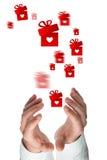 Złożony wizerunek ręk trzymać Zdjęcia Stock