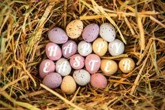 Złożony wizerunek szczęśliwy Easter Obraz Stock